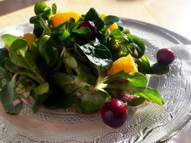 Cranberry Salat