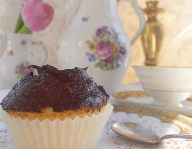 Boston Cream Cupcake 2