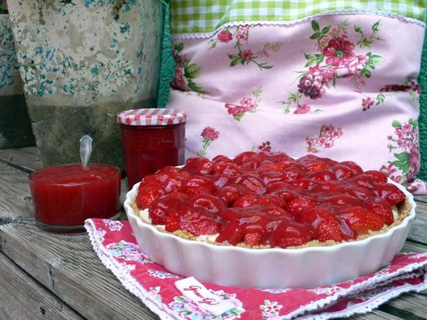 Erdbeeer Tarte