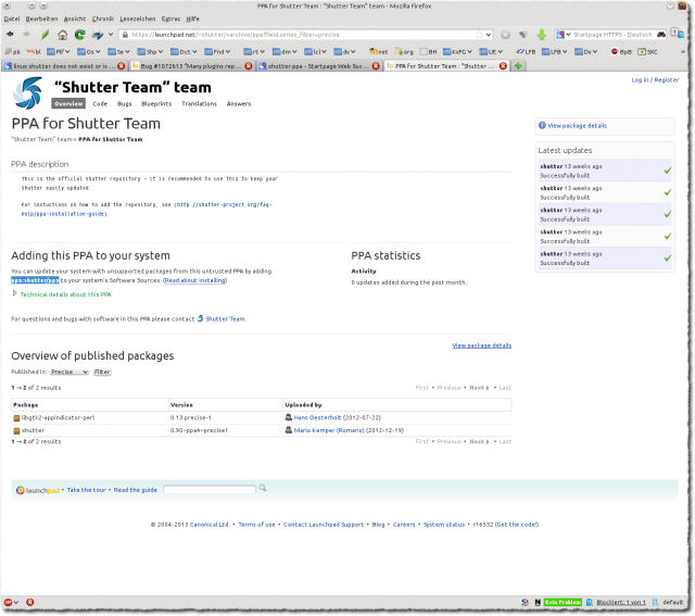 "PPAforShutterTeam:""ShutterTeam""team-MozillaFirefox_001"