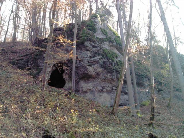 Klufthöhle
