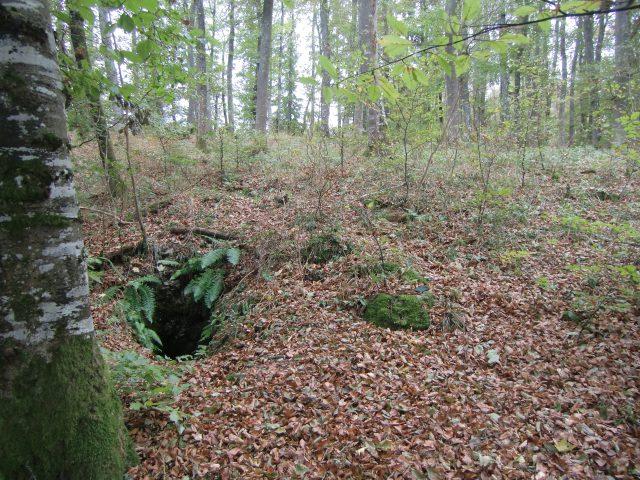 Eingangsschacht Kürbehöhle