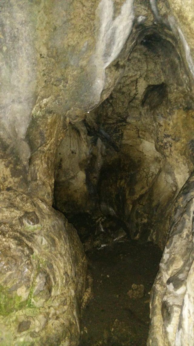 Hohen Genkinger Höhle Gang